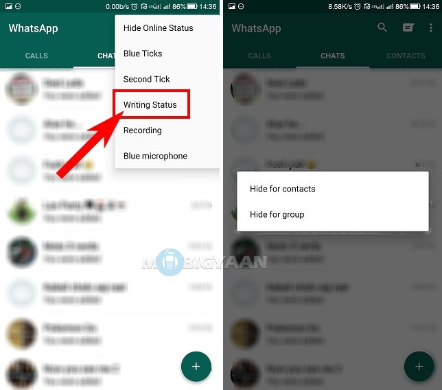How to hide typing status on WhatsApp [Guide] (1)