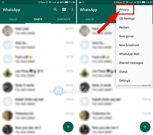 How to hide typing status on WhatsApp [Guide] (2)