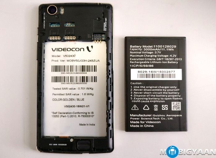Videocon Krypton 3 V50JG Hands-on Images (2)