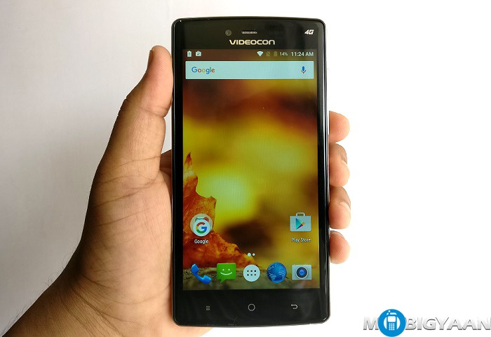 Videocon Krypton 3 V50JG Hands-on Images (5)