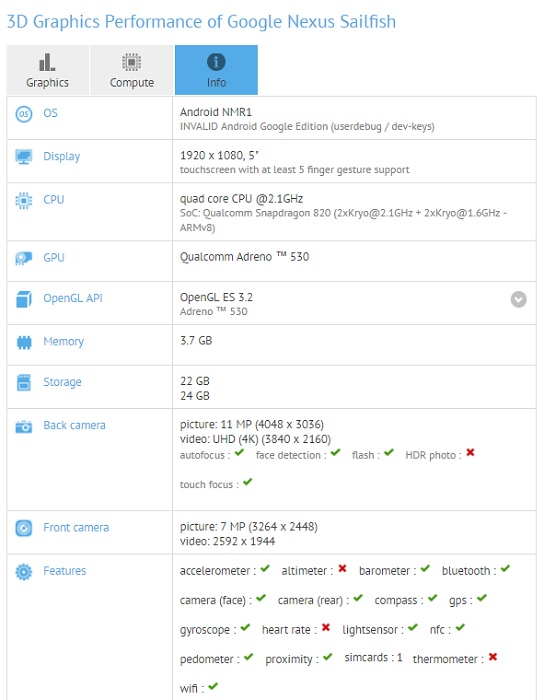 google-nexus-sailfish-gfxbench