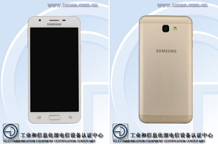 samsung-galaxy-on5-2016-tenaa-front-rear-view