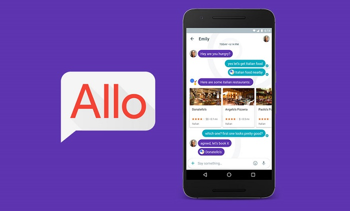 google allo features