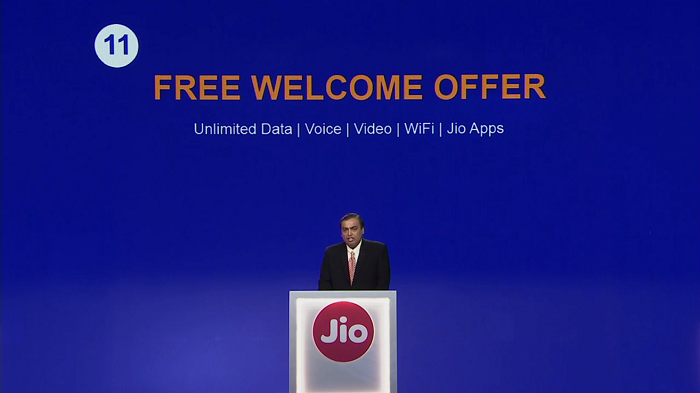 jio welcome plan