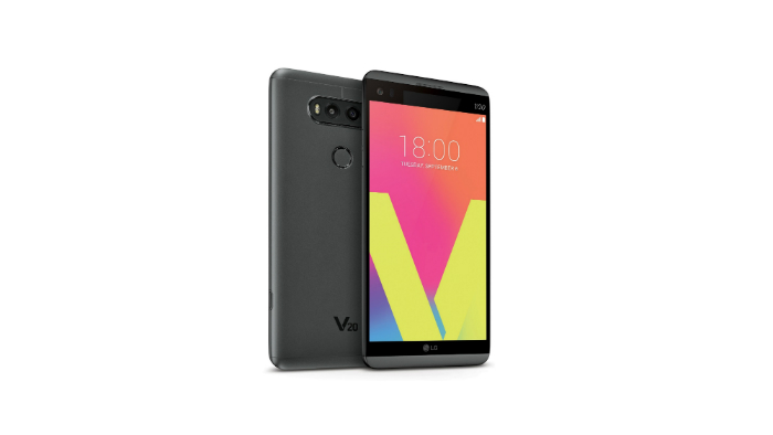 LG V20: First Android-7.0 Phone Unveiled