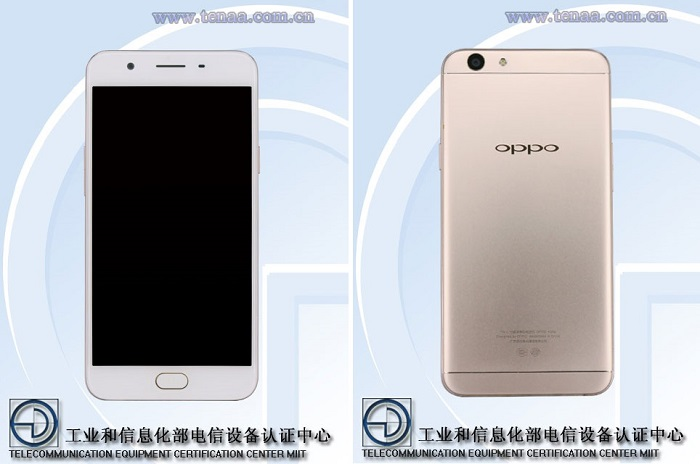 oppo-a59s-tenaa-front-rear-view