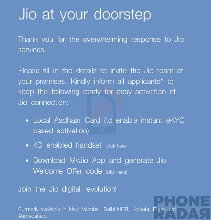 02cc2a1f2ed Reliance Jio starts doorstep delivery of Jio SIM cards