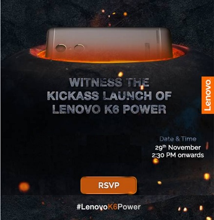 Lenovo-K6-Note-India-launch-invite