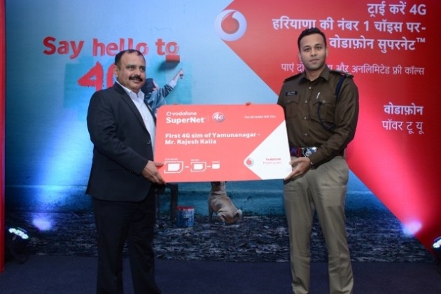 Vodafone-4G-launch-yamunanagar