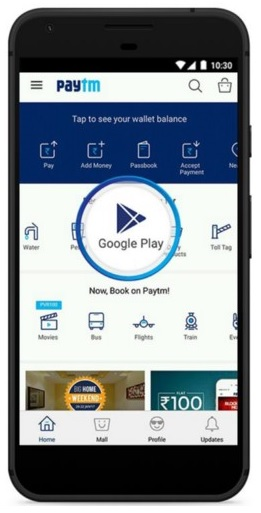 google-play-recharge-paytm-india