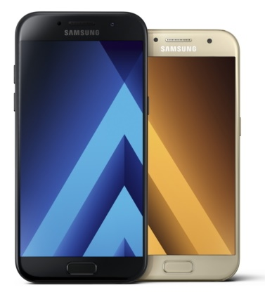 Samsung Galaxy A3 (2017), Galaxy A5 (2017) and Galaxy A7 (2017) smartphones announced