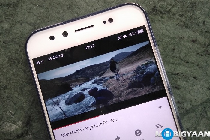 How-to-view-network-speed-on-notification-bar-on-Vivo-V5-Plus