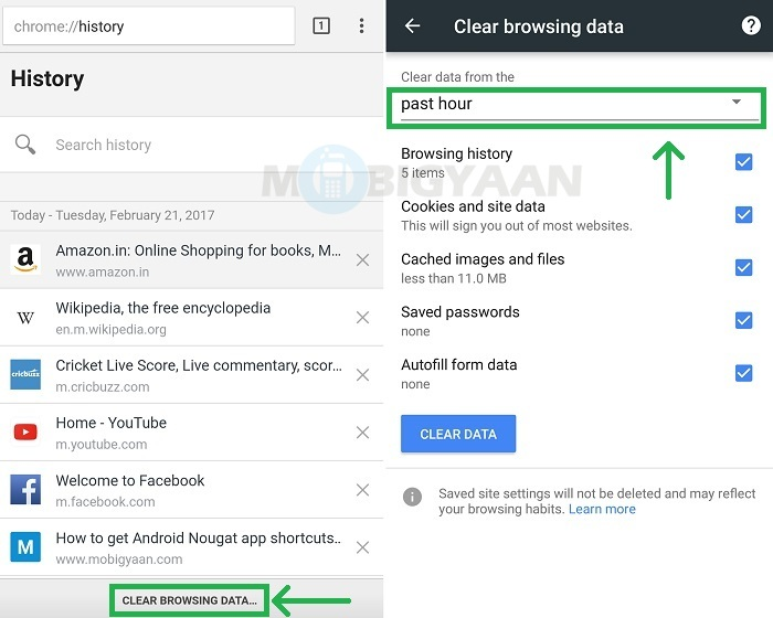 How to delete browsing history in Google Chrome [Android Guide]