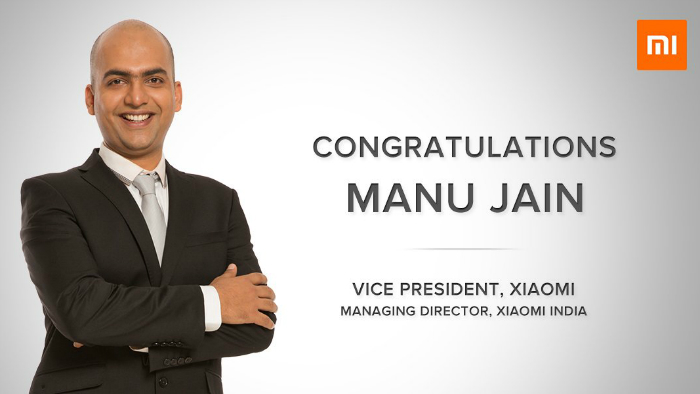 Manu Kumar Jain succeeds Hugo Barra as the Vice President of Xiaomi