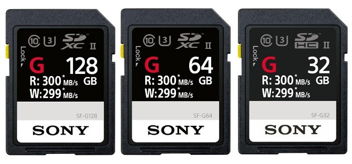 Sony-SF-G-Series-UHS-II-SD-card-official