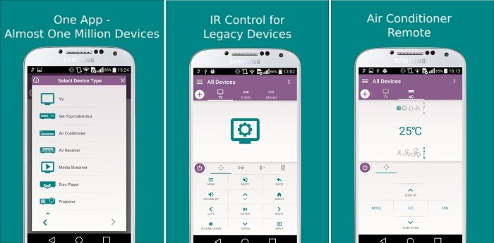 Top 3 IR Blaster or Universal TV Remote apps for Android