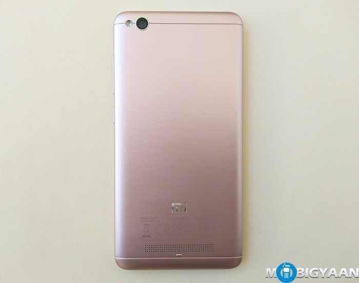 Xiaomi Redmi 4A Hands On Images