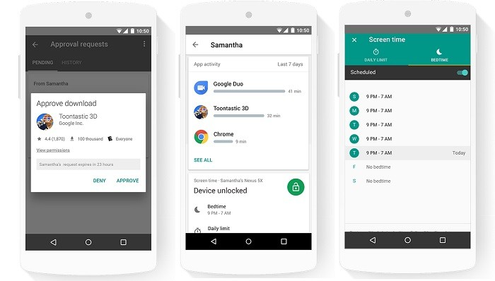 Google's Family Link app lets parents manage their kid's Android smartphone