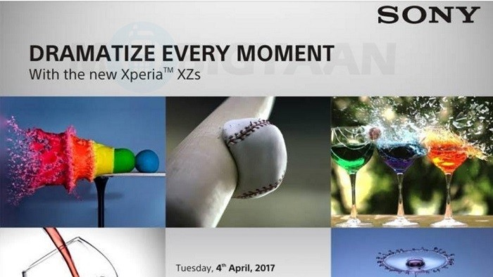 sony-xperia-xzs-india-launch-invite