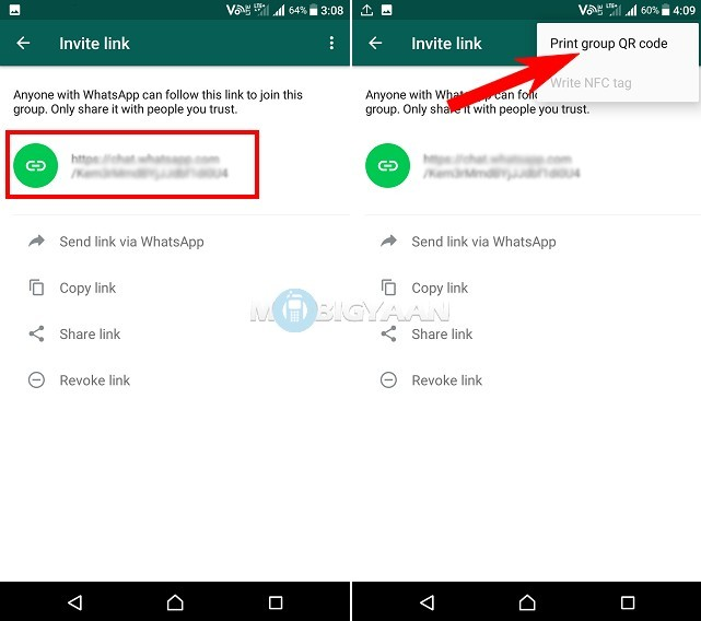 How to generate WhatsApp Group Invite Link Guide