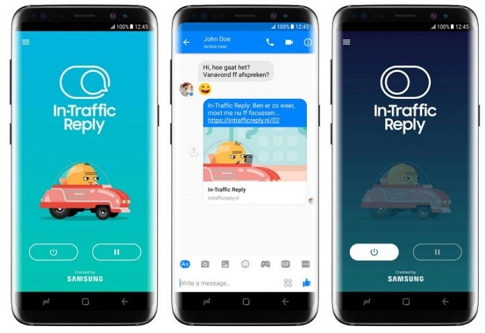 Samsung introduces In-Traffic Reply app to automatically ...