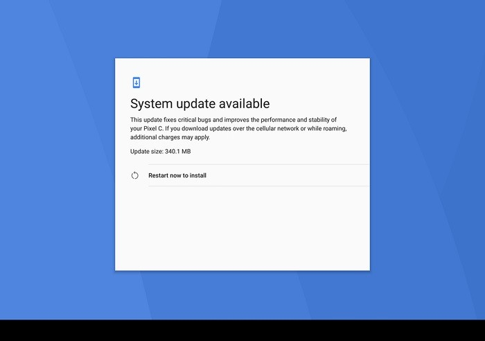 android-7-1-2-nougat-update-pixel-c