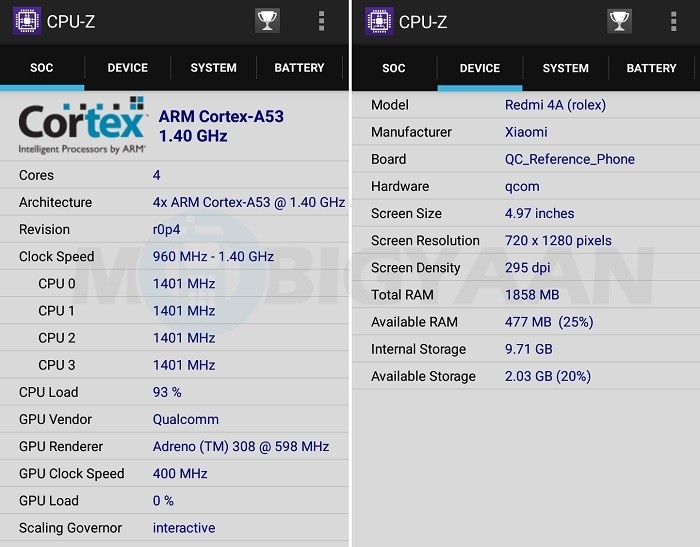 xiaomi-redmi-4a-review-performance-cpu-z-stats
