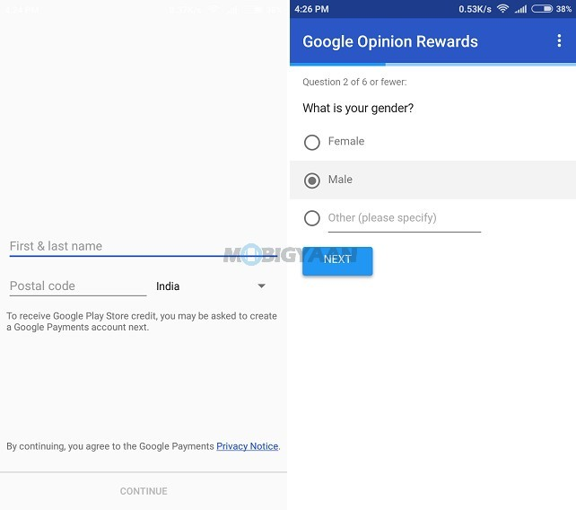 how often does google opinion rewards send surveys how to download paid app for free from google play 4735