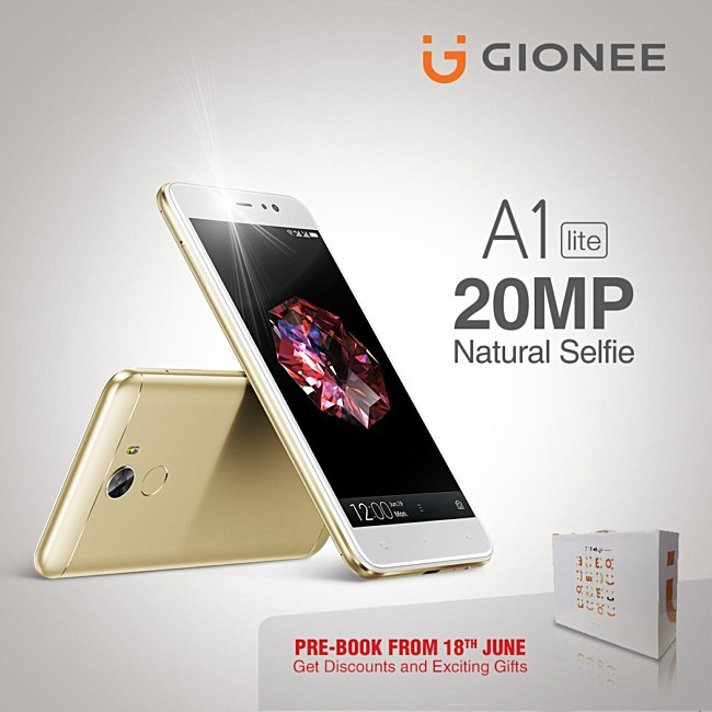 Gionee A1 Lite banner