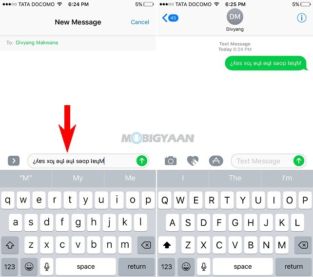 How-to-type-upside-down-text-messages-iPhone-Guide-2