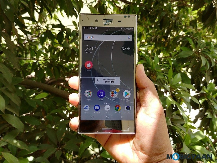 Sony starts rolling out Android 8.0 Oreo update for Xperia XZ Premium