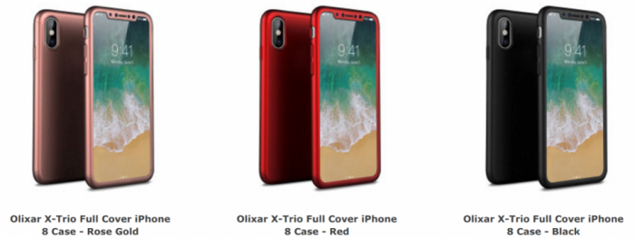 iPhone 8 cases by Olixar
