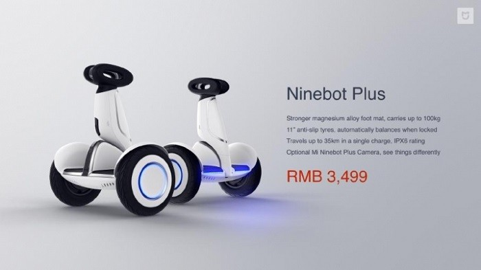 Xiaomi Announces Mi Laser Projector Ninebot Plus And Mi