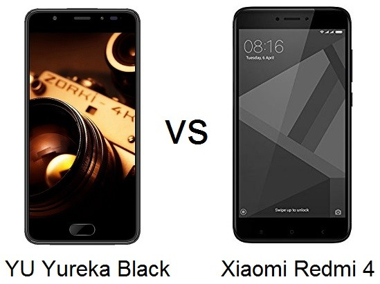 yu-yureka-black-vs-xiaomi-redmi-4-specs-comparison