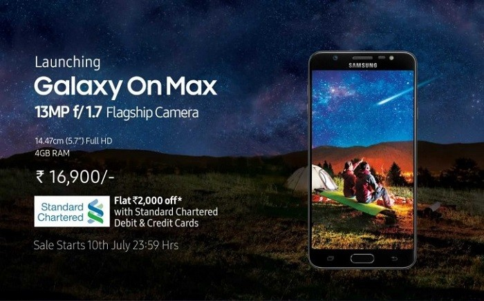 Galaxy On Max sale