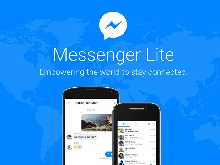Facebook Launches Prompt Messenger Lite App