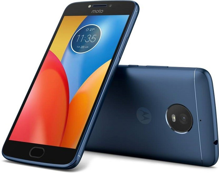 Moto E4 Plus Oxford Blue