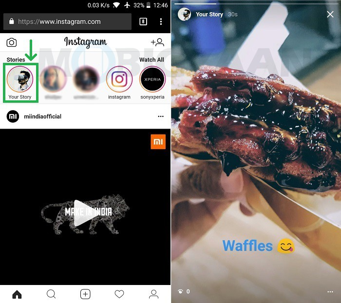 how-to-post-instagram-story-mobile-web-browser-android-5