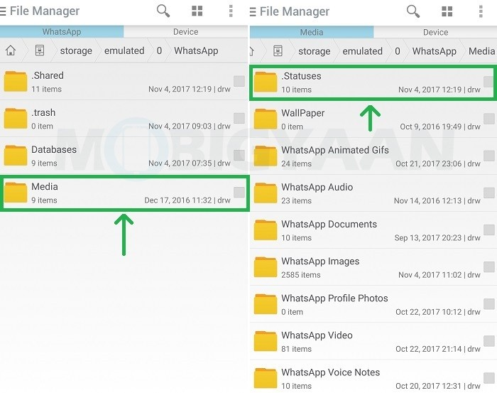 How to save WhatsApp Status photos and videos on your