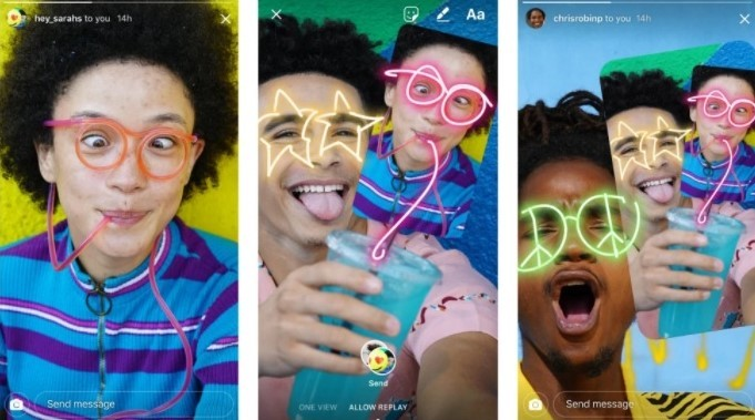 Instagram keeps doing a Snapchat with photo message remixes