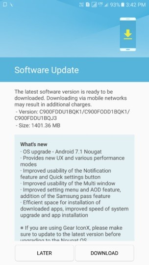samsung-galaxy-c9-pro-android-7-1-1-nougat-update