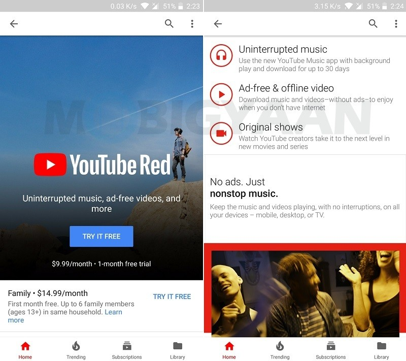YouTube Red might soon come to India