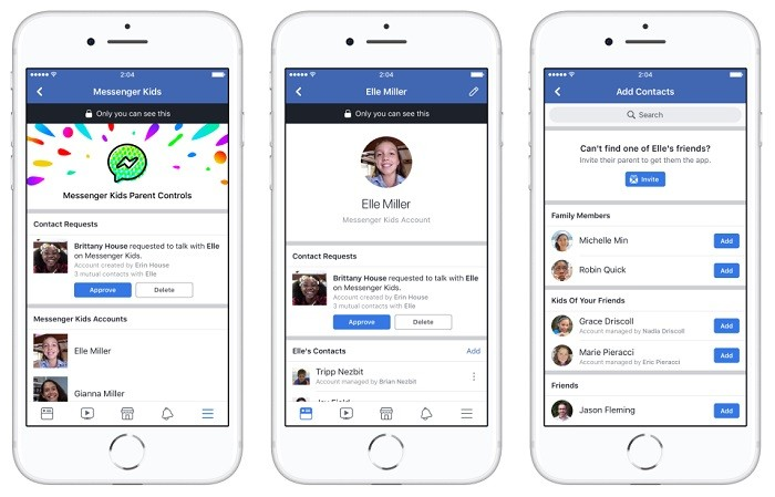 Facebook launches parent-controlled 'Messenger Kids' app