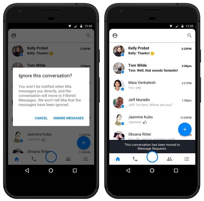 how to find facebook message requests