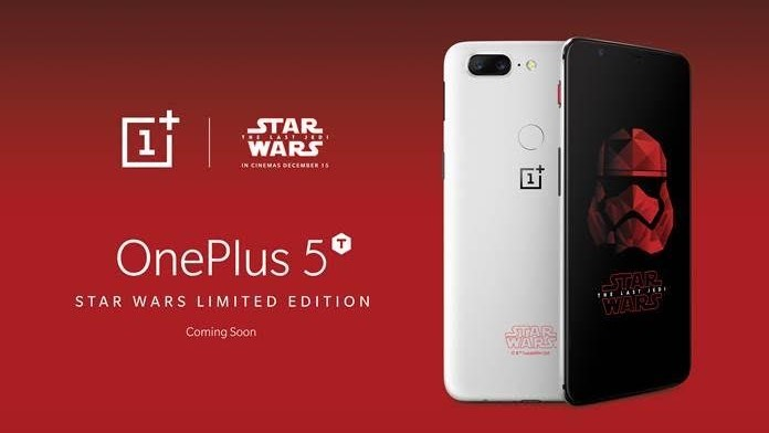 Star Wars OnePlus 5T has two special features