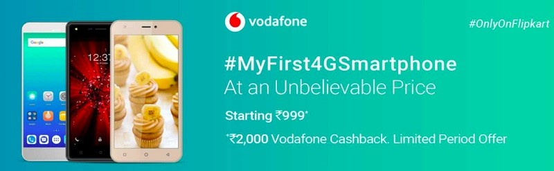 Vodafone-partners-with-Flipkart-to-offer-4G-smartphones-at-an-effective-price-of-999