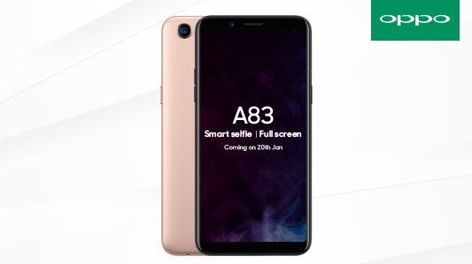 oppo-a83-jan-20-india-launch