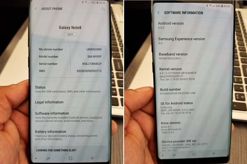 samsung-galaxy-note8-exynos-android-8-oreo-update