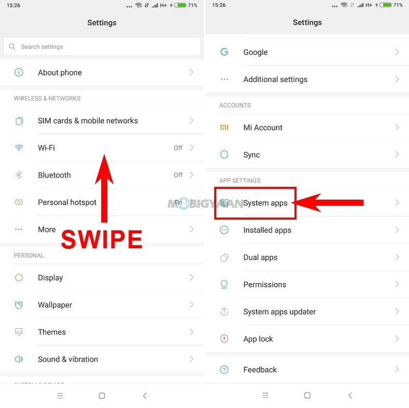 How to import and export contacts on Xiaomi Phones [MIUI 9