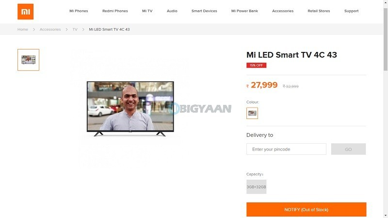 Xiaomi-Mi-LED-Smart-TV-4C-43-inch-spotted-on-Mi-Store-with-price-ahead-of-launch
